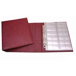 Альбом вертикальный 230х270 мм, (классик) кожзаменитель, лист скользящий